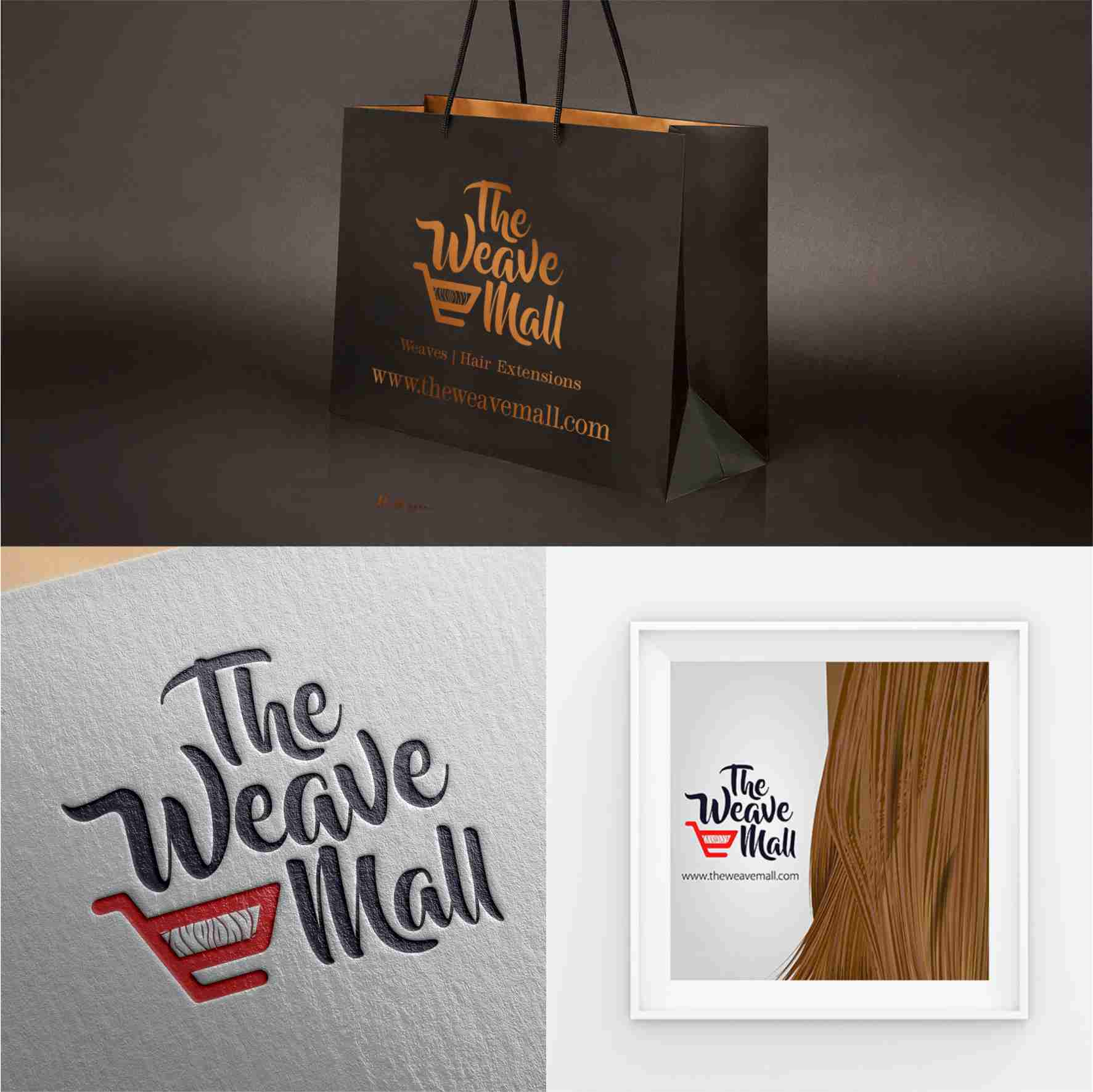 The Weave Mall theweavemall.com graphics design branding by David Rotimi